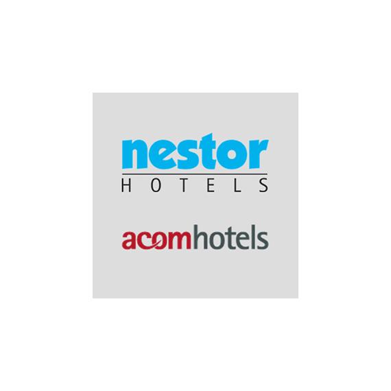 nestor/acom Hotels Logo Referenz